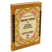 Haktan Yayınları Rahleboy 3'lü (Üç) Özellikli Arapça Hat , Türkçe Okunuşlu Tecvidli ve Mealli