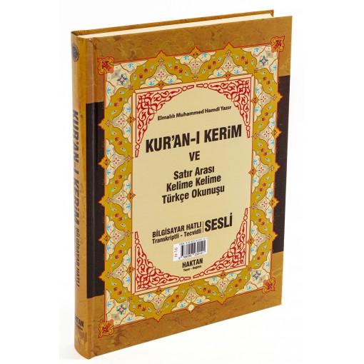 Haktan Yayınları Cami 3'lü (Üç) Özellikli Arapça Hat , Türkçe Okunuşlu Tecvidli ve Mealli