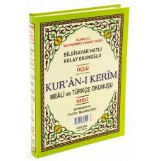 Haktan Yayınları Orta boy 1 Sayfada 3 Özellikli Kur'an-ı Kerim