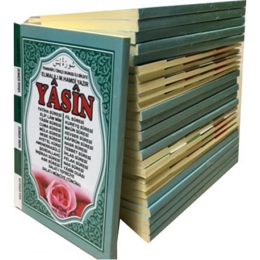 Cepboy Karşılıklı Mealli Türkçe Okunuşlu 128 sayfa Fihristli Yasin-i Şerif