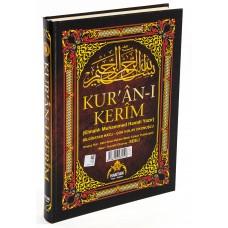 Haktan Yayınları Camiboy 5'li (Beş) Özellikli Arapça,Türkçe Okunuşlu,Tecvidli,Mealli ve Kelime Mealli Siyah Renk