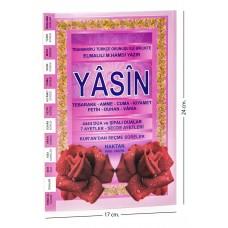 Ortaboy Karşılıklı Mealli Türkçe Okunuşlu 80 sayfa İthal Kağıt Yasin-i Şerif