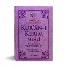 Ayfa Yayınları Cep Boy Metinsiz Yüce Meal PEMBE