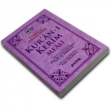 Ayfa Yayınları Hafız Boy Metinsiz Yüce Meal Pembe