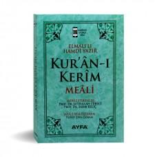 Ayfa Yayınları Cep Boy Metinsiz Yüce Meal YEŞİL