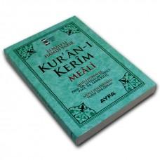 Ayfa Yayınları Hafız Boy Metinsiz Yüce Meal Yeşil