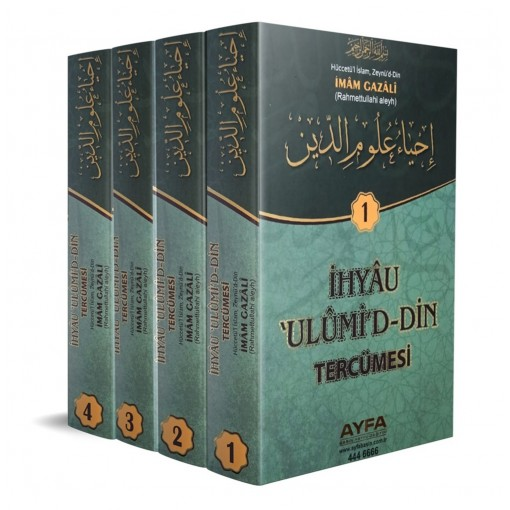 Ayfa Yayınları İhya Ulumid'din Tercümesi Takım Eser İmam Gazali