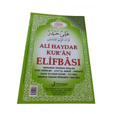 Fetih yayınları Ali Haydar Kur'an Elif-Bası