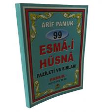 Pamuk Yayıncılık 99 Esmaül Hüsna fazileti ve sırları cep boy