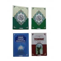 Hizmet Yayıncılık Cep boy cevşen, tesbihat ve celcelütiye seti 4 kitap