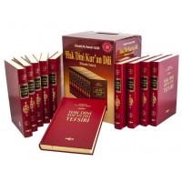 Akçağ Yayınları - Hak Dini Kur'an Dili Elmalı Tefsiri 10 CİLT