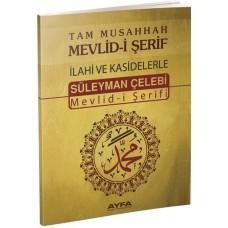 Ayfa Yayınları Mevlid-i Şerif Süleyman Çelebi Tam Musahhah