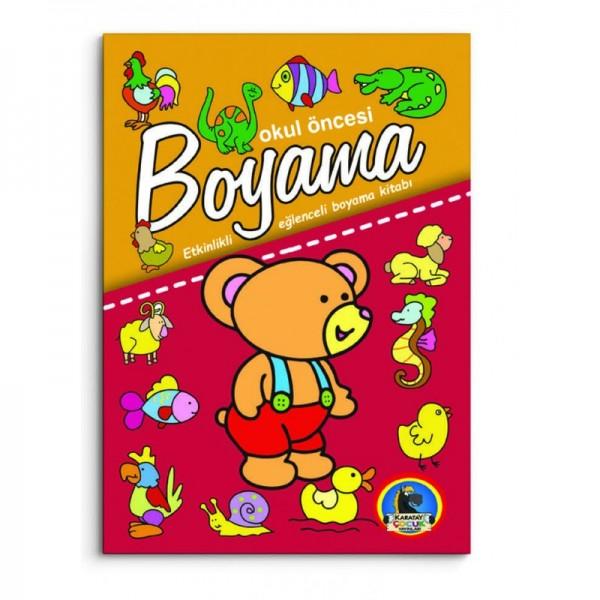 Okul öncesi Boyama Etkinlikli Eğlenceli Boyama 5 Kitap Set