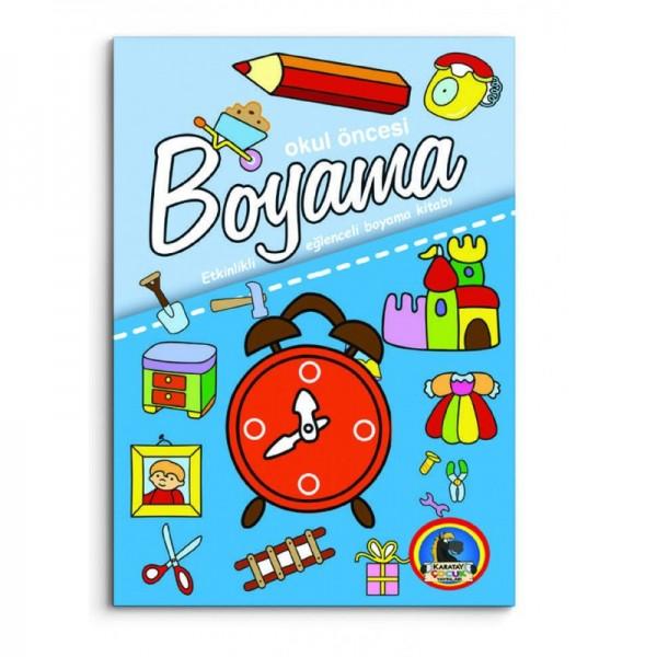 Okul Oncesi Boyama Etkinlikli Eglenceli Boyama 5 Kitap Set