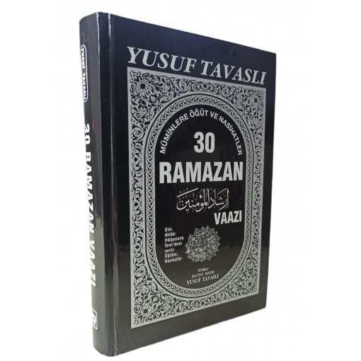 Tavaslı Yayınları 30 Ramazan Vaazı