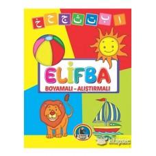 Elifba Boyamalı Alıştırmalı Karatay Çocuk