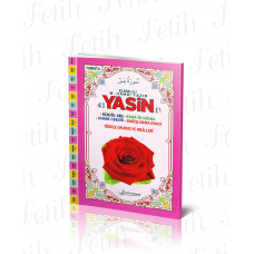 RAHLEBOY 160 SAYFA KARŞILIKLI MEALLİ YASİN'İ ŞERİF FETİH YAYINCILIK KOD F034