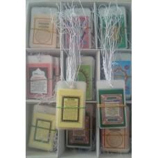 Arabalar İçin Mini Dini Kartlar 540 Adet Karışık paket