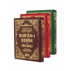 Cepboy Kur'an-ı Kerim ve yüce meali Fermuarlı