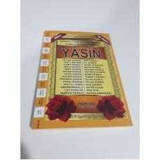 Ortaboy Karşılıklı Mealli Türkçe Okunuşlu 192 sayfa İri yazılı şamua Kağıt Fihristli Yasin-i Şerif