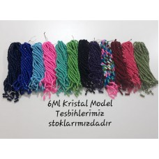 6ML KRİSTAL MODEL TESBİH DESTE HALİNDE