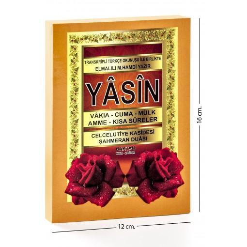 Çanta boy Karşılıklı Mealli Türkçe Okunuşlu 240 sayfa Yasin-i Şerif