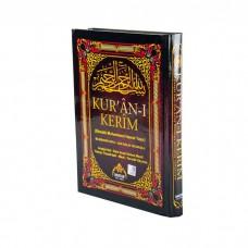 Kur'an-ı Kerim Bilgisayar Hatlı Sesli Orta Boy BEŞLİ (5'Lİ)