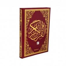 Kur'an-ı kerim Bilgisayar Hatlı Orta Boy Kırmızı Renk